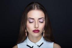 Stile della donna di affari Fotografie Stock