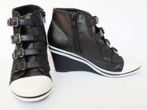 Stile delle scarpe Fotografia Stock
