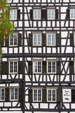 Stile di architettura di Fachwerk immagine stock libera da diritti