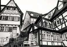 Stile di architettura di Fachwerk fotografia stock libera da diritti