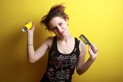 Stile di capelli Immagine Stock Libera da Diritti