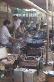 Stile di cottura indiano Fotografie Stock Libere da Diritti