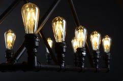 Stile di edison delle lampadine del LED Fotografie Stock Libere da Diritti