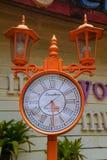 Stile di Londra dell'orologio Immagine Stock