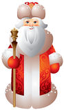 Stile di Matryoshka del Russo di Ded Moroz Immagine Stock Libera da Diritti