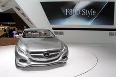 Stile di Mercedes F800 - salone dell'automobile 2010 di Ginevra Immagine Stock Libera da Diritti