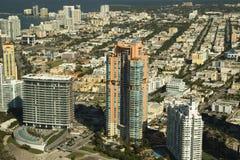 Città di Miami Fotografia Stock