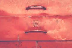 Stile di minimalismo, cassetta portautensili Fotografia Stock Libera da Diritti