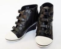 Stile di modo delle scarpe Immagine Stock Libera da Diritti