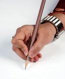 Stile di scrittura Immagini Stock