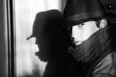 Stile di Sinatra immagini stock libere da diritti