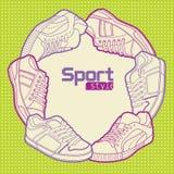 Stile di sport Fotografia Stock