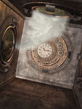 Stile di Steampunk Fotografia Stock