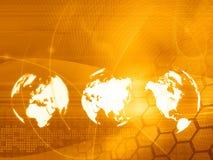 Stile di tecnologia del programma di mondo Immagine Stock