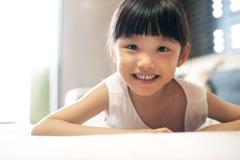 Stile di vita asiatico della famiglia Fotografia Stock Libera da Diritti
