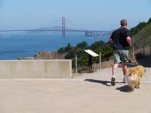Stile di vita attivo a San Francisco Fotografie Stock Libere da Diritti