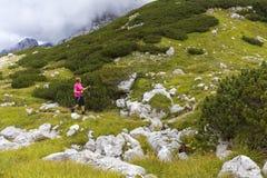 Stile di vita attivo - stile di vita sano Sentiresi bene quando camminano immagine stock