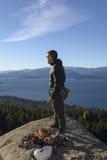 Stile di vita di arrampicata fotografie stock libere da diritti