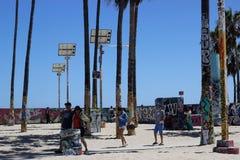Stile di vita di California Fotografia Stock