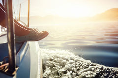 Stile di vita di navigazione Fotografie Stock