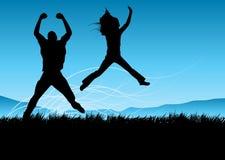 Stile di vita felice Fotografia Stock Libera da Diritti