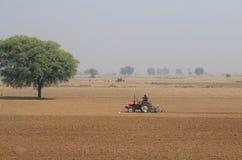 Stile di vita indiano India del paese dell'agricoltore Immagine Stock