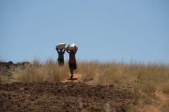 Stile di vita nel Madagascar Fotografia Stock
