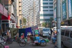 Stile di vita nella città di Shenyang Fotografia Stock Libera da Diritti
