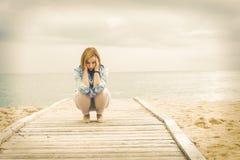 Stile di vita ottimista Potere di una donna positiva immagini stock
