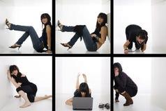 Stile di vita pazzesco Fotografia Stock