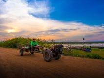Stile di vita rurale tailandese Fotografia Stock