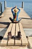Stile di vita sano, felicità di libertà Fotografia Stock Libera da Diritti