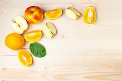 Stile di vita sano juic della frutta fresca Fotografia Stock Libera da Diritti