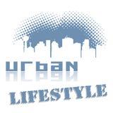 Stile di vita urbano Fotografia Stock