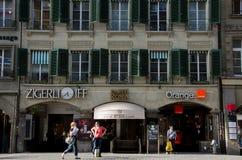 Stile di vita urbano a Berna immagini stock libere da diritti