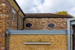 Stile differente per una casa inglese Immagine Stock Libera da Diritti