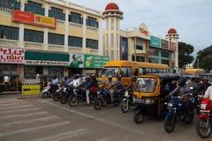 Stile e caratteristiche urbani di Mysore in India Immagini Stock Libere da Diritti