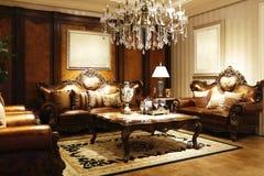 Stile elegante del salotto Immagine Stock Libera da Diritti