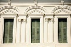 Stile europeo delle finestre in Tailandia. Immagine Stock Libera da Diritti