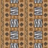 stile för africa bakgrundsprydnad Arkivbilder