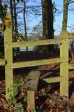 Stile gate in the Sussex countryside. Royalty Free Stock Photography