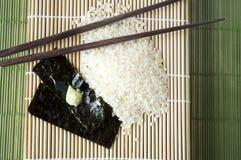 Stile giapponese dell'alimento Fotografie Stock Libere da Diritti