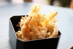 Stile giapponese fritto Tempura del gambero fotografia stock