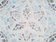 Stile greco del modello di mosaico Fotografia Stock