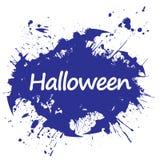 Stile Halloween di lerciume illustrazione astratta di vettore illustrazione vettoriale