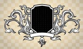 stile incisione dell'ornamento Immagini Stock