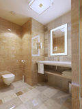 Stile moderno del bagno immagine stock
