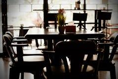 Stile moderno della caffetteria Fotografia Stock Libera da Diritti