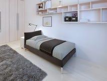 Stile moderno della camera da letto degli adolescenti Fotografie Stock