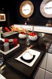 stile moderno della cucina orientale fotografia stock libera da diritti